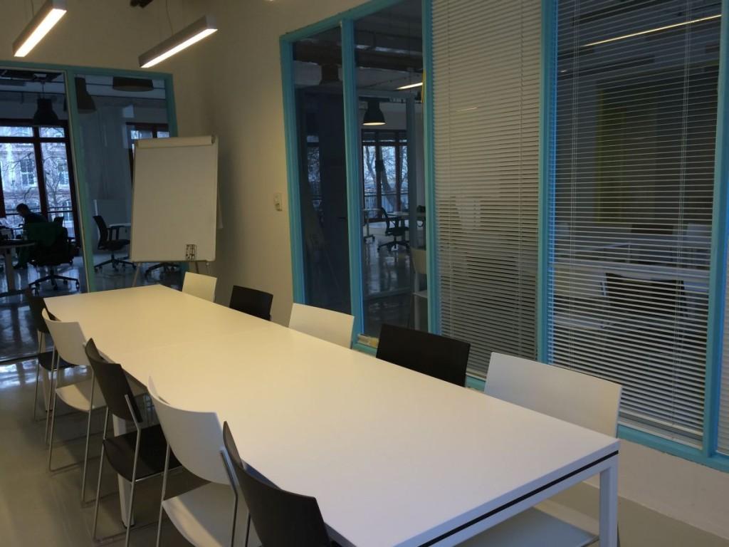coworking Impact Hub Bratislava, Blue meeting room